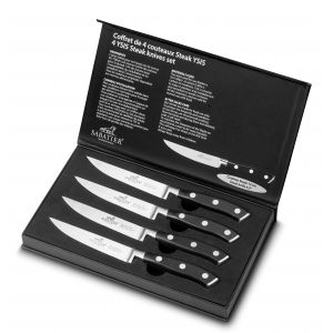 Coffret de 4 couteaux steak YSIS lion sabatier international